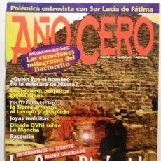 Coleccionismo de Revistas y Periódicos: AÑO CERO - REVISTA. Lote 32654913
