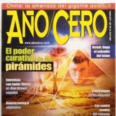Coleccionismo de Revistas y Periódicos: AÑO CERO - REVISTA. Lote 32654950