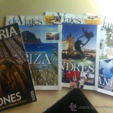 Coleccionismo de Revistas y Periódicos: LOTE DE 4 REVISTAS DEVIAJES / Nº 157,158,159 Y 160 / Y UNA REVISTA HISTORIA Nº 102 . Lote 32683237