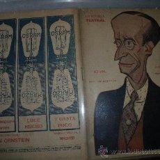 Coleccionismo de Revistas y Periódicos: LA NOVELA TEATRAL Nº 81.- PEDRO JIMENEZ.- PERRIN Y PALACIOS.. Lote 32712995