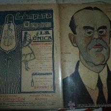 Coleccionismo de Revistas y Periódicos: LA NOVELA TEATRAL Nº 85.- SINESIO DELGADO.- LA BALSA DE ACEITE.. Lote 32713068