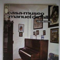 Colecionismo de Revistas e Jornais: TEMAS DE NUESTRA ANDALUCIA. MONOGRAFICOS CASA-MUSEO MANUEL DE FALLA. Lote 32739198