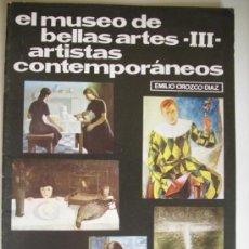 Colecionismo de Revistas e Jornais: TEMAS DE NUESTRA ANDALUCIA. MONOGRAFICOS EL MUSEO DE BELLAS ARTES -3- ARTISTAS CONTEMPORANEOS N.45. Lote 32739218