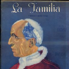 Coleccionismo de Revistas y Periódicos: LA FAMILIA NOVIEMBRE 1948 LABORES Y HOGAR. Lote 32738259