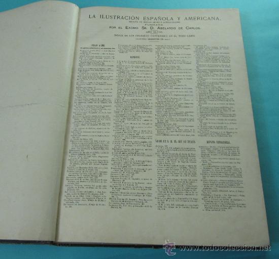 Coleccionismo de Revistas y Periódicos: LA ILUSTRACIÓN ESPAÑOLA Y AMERICANA. 2º TOMO 1903. BELLAS ARTES, RETRATOS, VIAJES S.M. EL REY - Foto 5 - 32743313