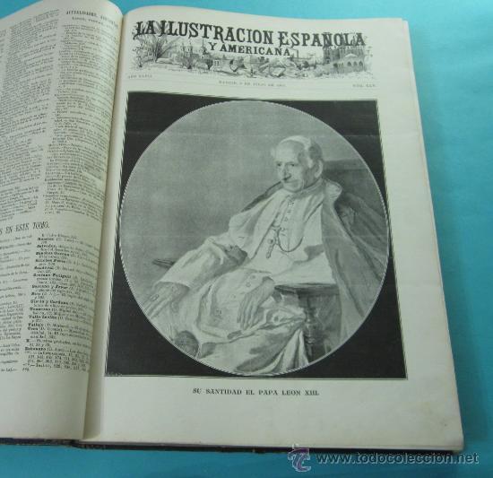 Coleccionismo de Revistas y Periódicos: LA ILUSTRACIÓN ESPAÑOLA Y AMERICANA. 2º TOMO 1903. BELLAS ARTES, RETRATOS, VIAJES S.M. EL REY - Foto 6 - 32743313