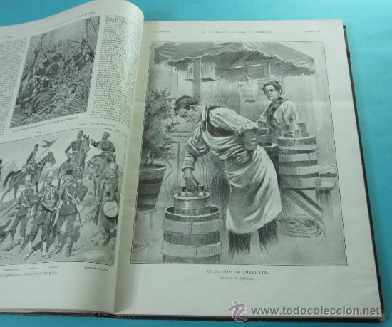 Coleccionismo de Revistas y Periódicos: LA ILUSTRACIÓN ESPAÑOLA Y AMERICANA. 2º TOMO 1903. BELLAS ARTES, RETRATOS, VIAJES S.M. EL REY - Foto 9 - 32743313
