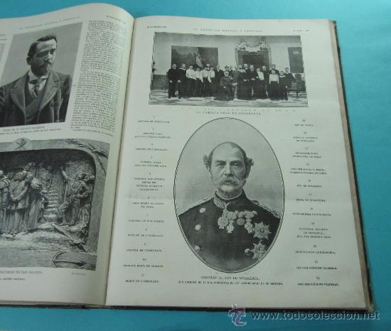 Coleccionismo de Revistas y Periódicos: LA ILUSTRACIÓN ESPAÑOLA Y AMERICANA. 2º TOMO 1903. BELLAS ARTES, RETRATOS, VIAJES S.M. EL REY - Foto 13 - 32743313