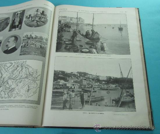Coleccionismo de Revistas y Periódicos: LA ILUSTRACIÓN ESPAÑOLA Y AMERICANA. 2º TOMO 1903. BELLAS ARTES, RETRATOS, VIAJES S.M. EL REY - Foto 14 - 32743313
