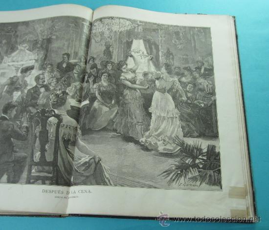Coleccionismo de Revistas y Periódicos: LA ILUSTRACIÓN ESPAÑOLA Y AMERICANA. 2º TOMO 1903. BELLAS ARTES, RETRATOS, VIAJES S.M. EL REY - Foto 15 - 32743313