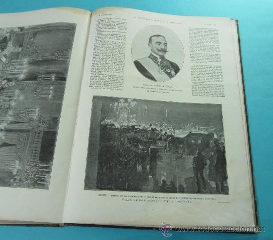 Coleccionismo de Revistas y Periódicos: LA ILUSTRACIÓN ESPAÑOLA Y AMERICANA. 2º TOMO 1903. BELLAS ARTES, RETRATOS, VIAJES S.M. EL REY - Foto 17 - 32743313