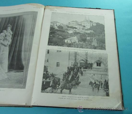 Coleccionismo de Revistas y Periódicos: LA ILUSTRACIÓN ESPAÑOLA Y AMERICANA. 2º TOMO 1903. BELLAS ARTES, RETRATOS, VIAJES S.M. EL REY - Foto 18 - 32743313