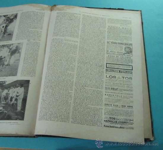 Coleccionismo de Revistas y Periódicos: LA ILUSTRACIÓN ESPAÑOLA Y AMERICANA. 2º TOMO 1903. BELLAS ARTES, RETRATOS, VIAJES S.M. EL REY - Foto 19 - 32743313