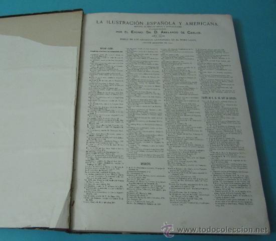 Coleccionismo de Revistas y Periódicos: LA ILUSTRACIÓN ESPAÑOLA Y AMERICANA. TOMO 1º 1904. BELLAS ARTES, RETRATOS, VIAJES S.M. EL REY - Foto 5 - 32743457