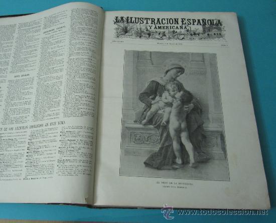 Coleccionismo de Revistas y Periódicos: LA ILUSTRACIÓN ESPAÑOLA Y AMERICANA. TOMO 1º 1904. BELLAS ARTES, RETRATOS, VIAJES S.M. EL REY - Foto 6 - 32743457