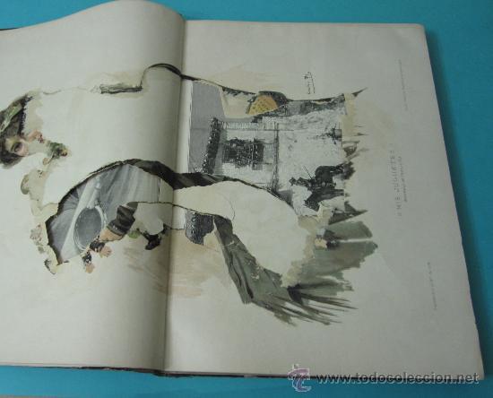 Coleccionismo de Revistas y Periódicos: LA ILUSTRACIÓN ESPAÑOLA Y AMERICANA. TOMO 1º 1904. BELLAS ARTES, RETRATOS, VIAJES S.M. EL REY - Foto 7 - 32743457