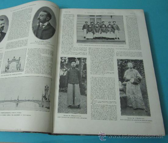 Coleccionismo de Revistas y Periódicos: LA ILUSTRACIÓN ESPAÑOLA Y AMERICANA. TOMO 1º 1904. BELLAS ARTES, RETRATOS, VIAJES S.M. EL REY - Foto 9 - 32743457