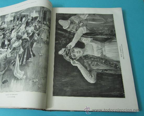 Coleccionismo de Revistas y Periódicos: LA ILUSTRACIÓN ESPAÑOLA Y AMERICANA. TOMO 1º 1904. BELLAS ARTES, RETRATOS, VIAJES S.M. EL REY - Foto 11 - 32743457