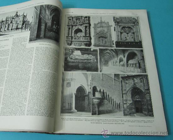 Coleccionismo de Revistas y Periódicos: LA ILUSTRACIÓN ESPAÑOLA Y AMERICANA. TOMO 1º 1904. BELLAS ARTES, RETRATOS, VIAJES S.M. EL REY - Foto 13 - 32743457