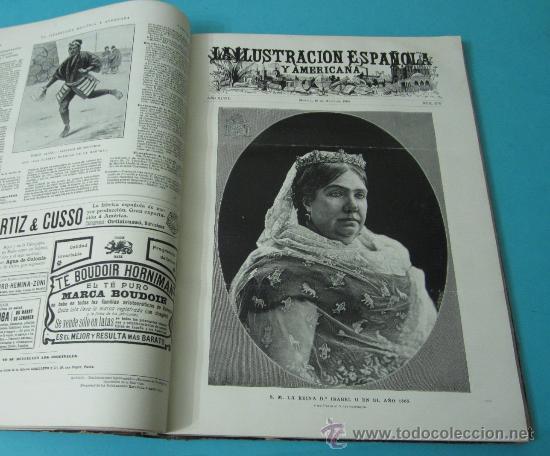 Coleccionismo de Revistas y Periódicos: LA ILUSTRACIÓN ESPAÑOLA Y AMERICANA. TOMO 1º 1904. BELLAS ARTES, RETRATOS, VIAJES S.M. EL REY - Foto 14 - 32743457