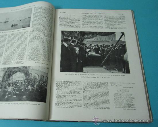 Coleccionismo de Revistas y Periódicos: LA ILUSTRACIÓN ESPAÑOLA Y AMERICANA. TOMO 1º 1904. BELLAS ARTES, RETRATOS, VIAJES S.M. EL REY - Foto 15 - 32743457
