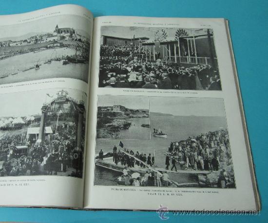 Coleccionismo de Revistas y Periódicos: LA ILUSTRACIÓN ESPAÑOLA Y AMERICANA. TOMO 1º 1904. BELLAS ARTES, RETRATOS, VIAJES S.M. EL REY - Foto 16 - 32743457
