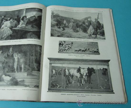 Coleccionismo de Revistas y Periódicos: LA ILUSTRACIÓN ESPAÑOLA Y AMERICANA. TOMO 1º 1904. BELLAS ARTES, RETRATOS, VIAJES S.M. EL REY - Foto 17 - 32743457