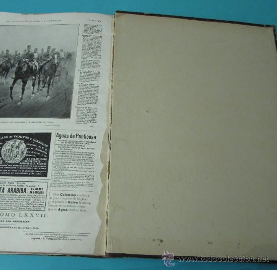 Coleccionismo de Revistas y Periódicos: LA ILUSTRACIÓN ESPAÑOLA Y AMERICANA. TOMO 1º 1904. BELLAS ARTES, RETRATOS, VIAJES S.M. EL REY - Foto 18 - 32743457