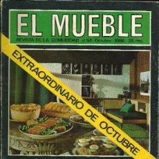 Coleccionismo de Revistas y Periódicos: REVISTA EL MUEBLE - Nº 58 - OCTUBRE 1966. Lote 32756848
