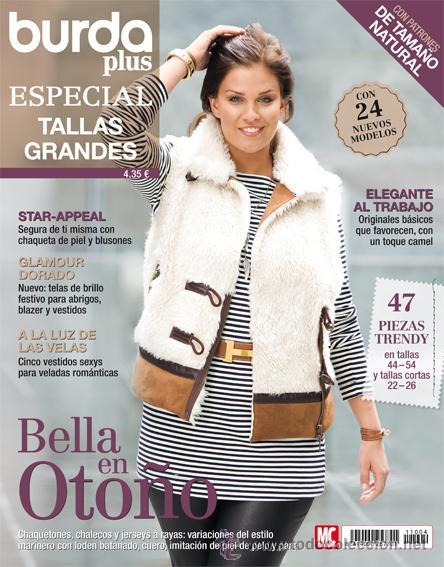 Burda Plus Especial Tallas Grandes 09 2011 Mod Sold Through Direct Sale 32760604