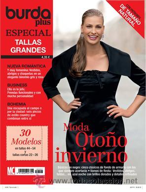 Burda Plus Especial Tallas Grandes 09 2010 Mod Sold Through Direct Sale 38235827