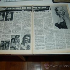 Coleccionismo de Revistas y Periódicos: MARILYN MONROE Y SU PIANO BLANCO: REPORTAJE GRÁFICO DE 1970. Lote 157945441