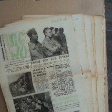 Coleccionismo de Revistas y Periódicos: SIGNO. SEMANARIO NACIONAL DE LA JUVENTUD A. C. - LOTE. Lote 32785906