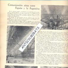 Coleccionismo de Revistas y Periódicos: REVISTA.COSMOPOLIS.AÑO 1928.AVIACION.DIRIGIBLE.SEVILLA.BUENOS AIRES.L.2.127.PATIOS DE SEVILLA.. Lote 32793213