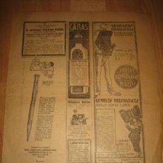 Coleccionismo de Revistas y Periódicos: PUBLICIDAD VARIADA LAPICERA EVERSHARP,APARATOS FOTOGRAFICOS ERNEMANN HOJA DE REVISTA A B C 1929. Lote 32879153