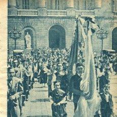 Coleccionismo de Revistas y Periódicos: * GALICIA * CORO GALLEGO TOXOS E FROLES EN BARCELONA - 1934. Lote 112741968
