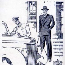 Coleccionismo de Revistas y Periódicos: PUBLICIDAD - BERNARD WEATHERILL - ROPA - 1940/45 - APROX. 10 X 15 CM.. Lote 32886512