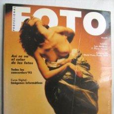 Coleccionismo de Revistas y Periódicos: FOTO PROFESIONAL. MARZO 1993. Nº 123. Lote 32973666