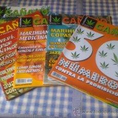 Coleccionismo de Revistas y Periódicos: LOTE DE REVISTAS CAÑAMO INCLUYENDO Nº 50 49 48 Y 71. Lote 33056635