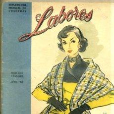 Coleccionismo de Revistas y Periódicos: REVISTA LABORES (JUNIO 1949). Lote 33038791