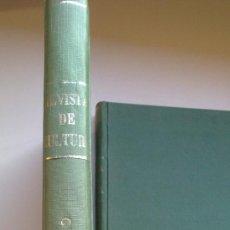 Coleccionismo de Revistas y Periódicos: REVISTA GENERAL DE CULTURA - (AÑO1979)12,NUMEROS,ENCUADERNADOS-DOS VOLUMENES-. Lote 33108106