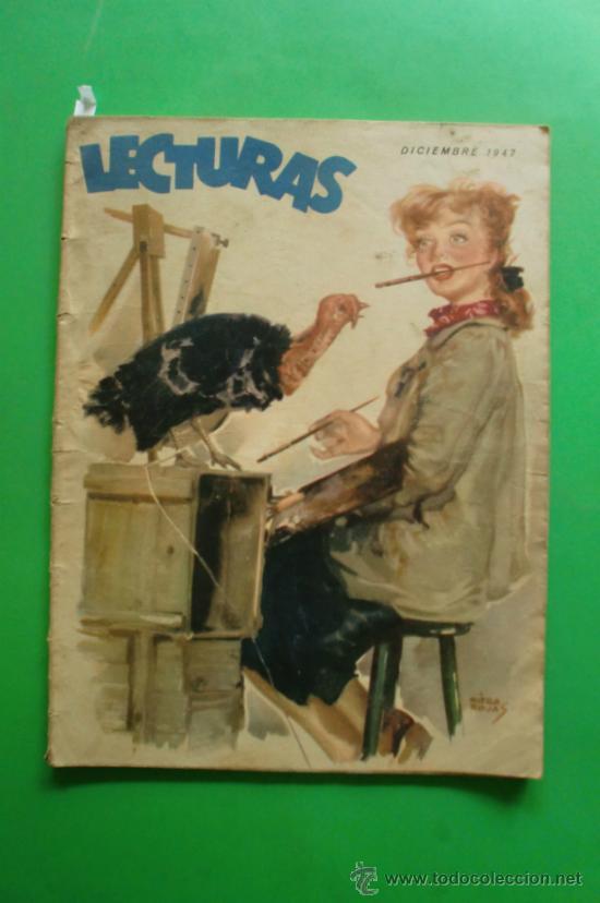 LECTURAS Nº 278 DIC. 1947 DOBLAJE - LAS CAMAPANAS D STA. Mª - EMILIO FREIXAS (Coleccionismo - Revistas y Periódicos Modernos (a partir de 1.940))