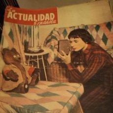 Coleccionismo de Revistas y Periódicos: LA ACTUALIDAD ESPAÑOLA Nº 133 22-7-1954 - BAHAMONTES - TOUR DE FRANCIA - FRANCO - 18 JULIO - TOROS. Lote 33076129