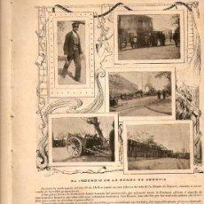Coleccionismo de Revistas y Periódicos: AÑO1899.MADRID MONUMENTAL.2 DE MAYO.FERIA DE SEVILLA.RONDA DE SEGOVIA.INSTITUTO RADIOGRAFICO ESPAÑOL. Lote 33086642