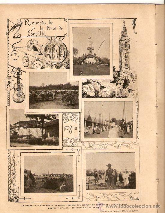 Coleccionismo de Revistas y Periódicos: AÑO1899.MADRID MONUMENTAL.2 DE MAYO.FERIA DE SEVILLA.RONDA DE SEGOVIA.INSTITUTO RADIOGRAFICO ESPAÑOL - Foto 3 - 33086642