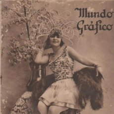 Coleccionismo de Revistas y Periódicos: REVISTA MUNDO GRÁFICO. 30 JULIO 1924. MUCHÍSIMOS ANUNCIOS DE PUBLICIDAD. . Lote 33117792