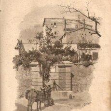 Coleccionismo de Revistas y Periódicos: AÑO 1899.MADRID.FUENTE DE LUCHANA.AGAPITO CUEVAS.FOTOGRAFIA AMADOR.CASIMIRO SAINZ.. Lote 33099631