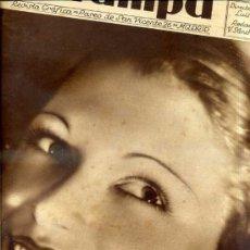 Coleccionismo de Revistas y Periódicos: REVISTA ESTAMPA 28 DICIEMBRE 1935. Lote 33119813
