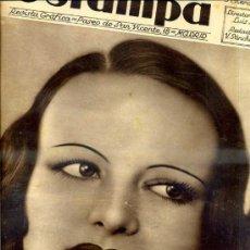 Coleccionismo de Revistas y Periódicos: REVISTA ESTAMPA 5 ENERO 1935. Lote 33119838