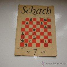 Coleccionismo de Revistas y Periódicos: SCHACH AÑO 1988 Nº 7. Lote 33151761